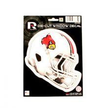 """Louisville Cardinals 6"""" Helmet Die-Cut Window Decal"""