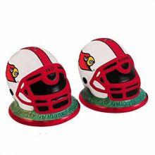 Louisville Cardinals Helmet Salt and Pepper Shakers