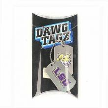 LSU Tigers 2 Pack Dog Tags
