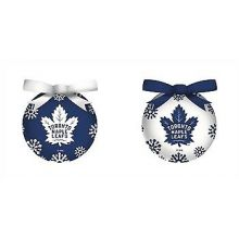 Toronto Maple Leafs LED Ball Ornaments Set of 6