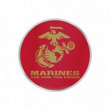 United States Marines Auto Badge Decal