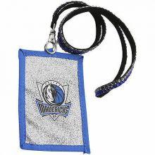 Dallas Mavericks Beaded Lanyard I.D. Wallet