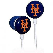 New York Mets Ihip Earbuds Headphones