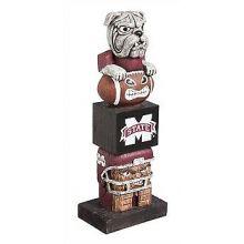 Mississippi State Bulldogs Tiki Totem