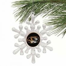 Missouri Tigers Traditional Snowflake Ornament