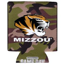 University of Missouri Mizzou Tigers Camo Dot Can Cooler Koozie