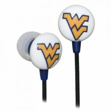 West Virginia Mountaineers Ihip Earbuds Headphones