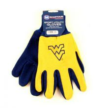 West Virginia Mountaineers Team Color Utility Gloves