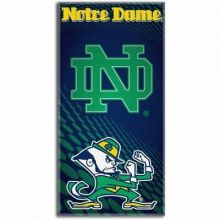 "Notre Dame 28"" x 58"" Dual Logo  Beach Towel"