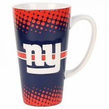 New York Giants 16-ounce Sculpted Latte Mug