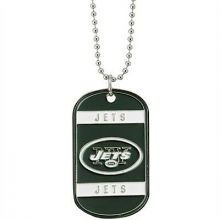 New York Jets Dog Tag Necklace