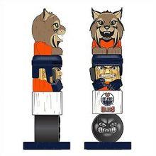 Edmonton Oilers Tiki Totem