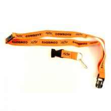 NCAA Oklahoma Cowboys Team color Breakaway Lanyard Key Chain