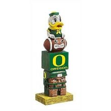 Oregon Ducks Tiki Totem