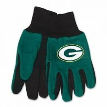 Green Bay Packers Team Color Utility Gloves