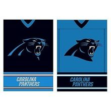 Carolina Panthers Double Sided Garden Flag
