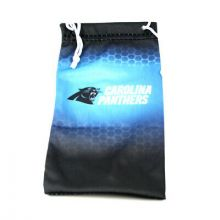 Carolina Panthers Drawstring Microfiber Glasses Pouch
