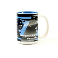 Carolina Panthers 15oz Shadow Ceramic Mug