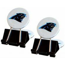 Carolina Panthers 2 Pack Multi Purpose Utility Clips