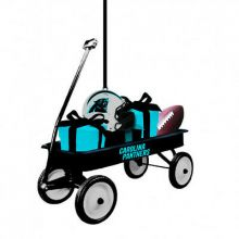 Carolina Panthers Team Wagon Ornament