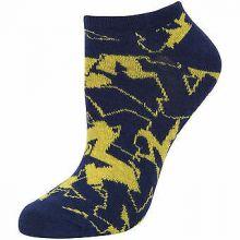 Michigan Wolverines No Show Repeater Socks