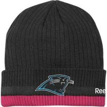 Carolina Panthers Reebok Breast Cancer Awareness Beanie