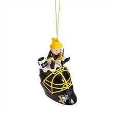 Pittsburgh Penguins  Painting Elf Ornament