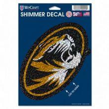 Missouri Tigers Minature Snowman Ornament