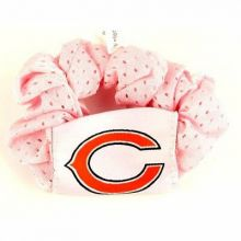 Chicago Bears  Pink Hair Twist Ponytail Holder