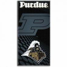 """Purdue Boilermakers  30"""" x 60"""" Shadow Logo  Beach Towel"""