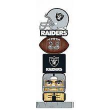 Oakland Raiders Tiki Totem