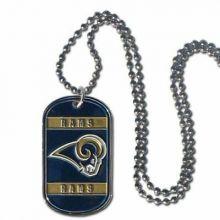 Los Angeles Rams Dog Tag Necklace