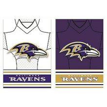Baltimore Ravens Double Sided Garden Flag