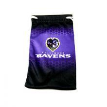 Baltimore Ravens Drawstring Microfiber Glasses Pouch