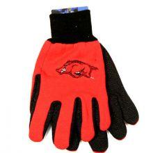 Arkansas Razorbacks Team Color Utility Gloves
