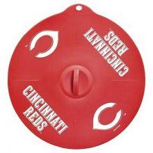 "Cincinnati Reds 9"" Silicone Lid"