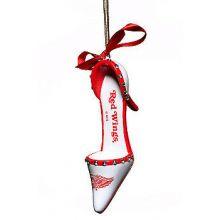 Detroit Red Wings Team High Heel Shoe Ornament