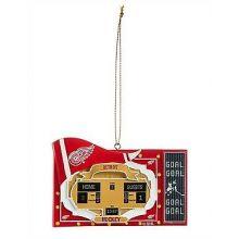 Detroit Red Wings Team Scoreboard Ornament