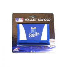 Kansas City Royals Tri-Fold Nylon Chamber Wallet