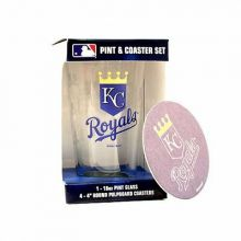 Kansas City Royals Pint and Coaster Set
