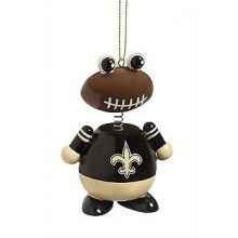 New Orleans Saints Ballman Hanging Ornament