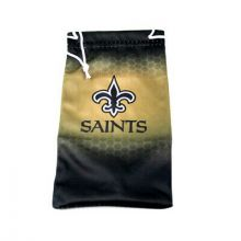 New Orleans Saints Drawstring Microfiber Glasses Pouch