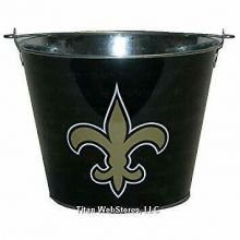New Orleans Saints Solid 5 Qt Ice Bucket