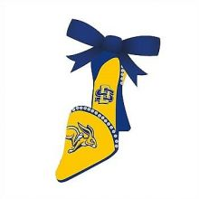 South Dakota State Jackrabbits High Heeled Shoe Ornament