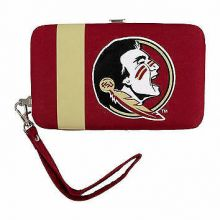 "Florida State Seminoles Distressed Wallet Wristlet Case (3.5"" X .5"" X 6"")"
