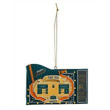 San Jose Sharks Team Scoreboard Ornament