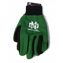 North Dakota Fighting Sioux Team Color Utility Gloves