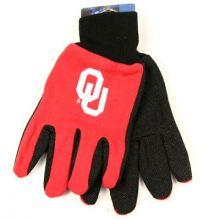 Oklahoma Sooners Team Color Utility Gloves