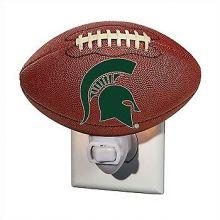 Michigan State Spartans Football Night Light