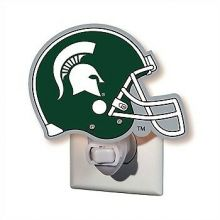 Michigan State Spartans Helmet Night Light